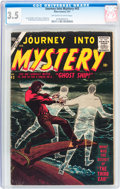 Silver Age (1956-1969):Horror, Journey Into Mystery #43 (Marvel, 1957) CGC VG- 3.5 Off-white towhite pages....