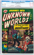 Golden Age (1938-1955):Horror, Journey Into Unknown Worlds #10 (Atlas, 1952) CGC FN+ 6.5 Off-whiteto white pages....