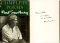 Books:Literature 1900-up, [Featured Lot]. Carl Sandburg. INSCRIBED. Complete Poems.New York: Harcourt, Brace and Company, [1950]. . ...