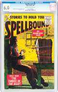 Silver Age (1956-1969):Horror, Spellbound #26 (Atlas, 1956) CGC FN 6.0 Off-white to whitepages....