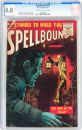 Silver Age (1956-1969):Horror, Spellbound #29 (Atlas, 1956) CGC VG 4.0 Cream to off-whitepages....