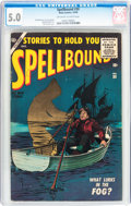 Silver Age (1956-1969):Horror, Spellbound #30 (Atlas, 1956) CGC VG/FN 5.0 Off-white to whitepages....