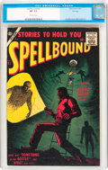 Golden Age (1938-1955):Horror, Spellbound #32 File Copy (Atlas, 1957) CGC VF- 7.5 Off-whitepages....