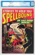 Golden Age (1938-1955):Horror, Spellbound #4 Northford pedigree (Atlas, 1952) CGC FN+ 6.5 Cream tooff-white pages....