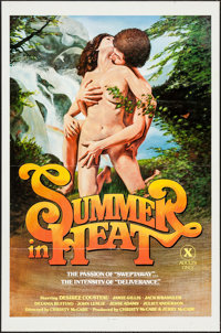 "Summer in Heat & Other Lot (Unknown, 1979). One Sheets (2) (27"" X 41"") Flat Folded. Adult. ... (Total:..."