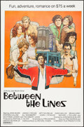 "Movie Posters:Comedy, Between the Lines (Midwest Films, 1977). One Sheet (27"" X 41"") FlatFolded. Comedy.. ..."