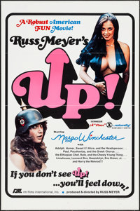 "Up! (RM International, 1976). One Sheet (27"" X 41"") Flat Folded. Sexploitation"