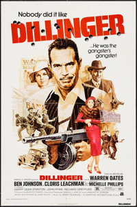 """Dillinger & Others Lot (American International, 1973). One Sheets (2) (27"""" X 41"""") and Insert (14"""" X 3..."""