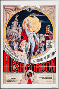 "Flesh Gordon (Mammoth Films, 1974). One Sheet (27"" X 41""). Sexploitation"