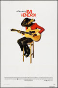 "Movie Posters:Rock and Roll, Jimi Hendrix (Warner Brothers, 1973). One Sheet (27"" X 41""). Rock and Roll.. ..."