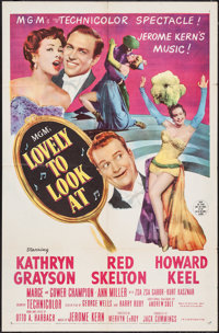 """Lovely to Look At & Other Lot (MGM, 1952). One Sheets (2) (27"""" X 41""""). Musical. ... (Total: 2 Items)"""
