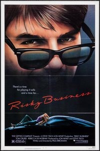 """Risky Business (Warner Brothers, 1983). One Sheet (27"""" X 41""""). Comedy"""