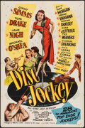 "Movie Posters:Musical, Disc Jockey (Allied Artists, 1951). One Sheet (27"" X 41""). Musical.. ..."