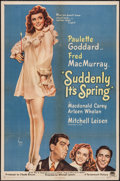 """Movie Posters:Comedy, Suddenly It's Spring (Paramount, 1946). One Sheet (27"""" X 41"""").Comedy.. ..."""