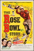 "Movie Posters:Sports, The Rose Bowl Story (Monogram, 1952). One Sheet (27"" X 41"").Sports.. ..."