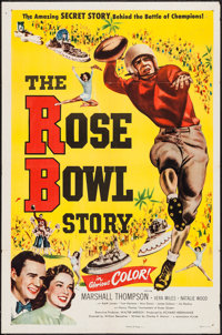 "The Rose Bowl Story (Monogram, 1952). One Sheet (27"" X 41""). Sports"