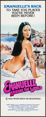 "Emanuelle Around the World (Jerry Gross, 1980). Inserts (20) (14"" X 36""). Adult. ... (Total: 20 Items)"