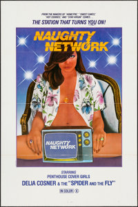 "Naughty Network & Others Lot (Gail Film, 1981). One Sheets (92) (27"" X 41""). Adult. ... (Total: 92 Ite..."