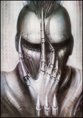 Movie Posters:Horror, Future-Kill by H.R. Giger (International Film Marketing, 1985).Autographed and Numbered Limited Edition Lithograph Poster (...(Total: 2 Items)