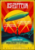 "Movie Posters:Rock and Roll, Led Zeppelin: Celebration Day (Nexo Digital, 2012). Italian 2 -Foglio (38.5"" X 55""). Rock and Roll.. ..."