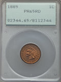 Proof Indian Cents, 1885 1C PR65 Red PCGS....
