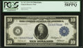 Fr. 912 $10 1914 Federal Reserve Note PCGS Choice About New 58PPQ