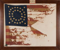 Military & Patriotic:Civil War, Guidon Carried At Appomattox Court House. ...