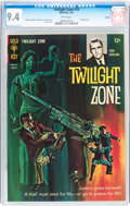 Silver Age (1956-1969):Horror, Twilight Zone #19 Boston pedigree (Gold Key, 1967) CGC NM 9.4 Whitepages....
