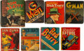 Big Little Book:Miscellaneous, Big Little Book Detective-Themed Group of 8 (Whitman, 1934-39)....(Total: 8 Items)