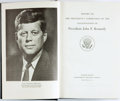 Books:Americana & American History, [Kennedy Assassination]. Report of The President's Commission onthe Assassination of President John F. Kennedy. Was...