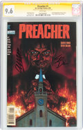 Modern Age (1980-Present):Horror, Preacher #1 Signature Series (DC, 1995) CGC NM+ 9.6 White pages....