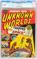 Golden Age (1938-1955):Science Fiction, Journey Into Unknown Worlds #5 (Atlas, 1951) CGC FN 6.0 Off-whiteto white pages....