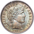 Barber Dimes, 1911-S 10C MS67 PCGS. CAC....