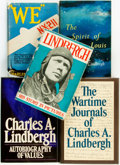 Books:Biography & Memoir, Charles A. Lindbergh. Group of Five Biographies. Various publishersand dates.... (Total: 5 Items)