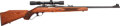 Long Guns:Lever Action, Sako VL63 Finnwolf Lever Action Rifle With Redfield Lo Pro 2X-7XScope....