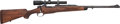 Long Guns:Bolt Action, Winchester .416 Taylor Custom Made Bolt Action Rifle With Zeiss1.5-4.5x18 Scope....