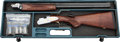 Shotgun:Double Barrel, Cased P. Beretta Model 687EL Over and Under Shotgun....