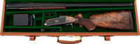 Cased 12 Gauge Customized Remington Model 32TF Over and Under Shotgun