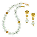 Estate Jewelry:Suites, Quartz, Gold Jewelry Suite, Patricia Makena. ...