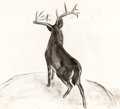 Animation Art:Concept Art, Bambi Great Prince of the Forest Concept Art (Walt Disney,1942)....