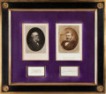 Military & Patriotic:Civil War, Ulysses S. Grant and Robert E. Lee: Autograph Display....