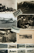 Books:Photography, [Aviation]. Small Archive of Sixteen Photographs and Images Depicting Various Historic Aircraft. Circa 1940. . ...