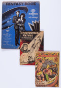 Golden Age (1938-1955):Science Fiction, Golden Age Sci-Fi Group of 3 (Various Publishers, 1940s) Condition:Average FR.... (Total: 3 Items)