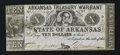 Obsoletes By State:Arkansas, (Little Rock), AR- State of Arkansas $10 Aug. 9, 1864 Cr. 56B. ...