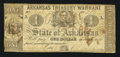 Obsoletes By State:Arkansas, (Little Rock), AR- State of Arkansas $1 Mar. 22, 1862 Cr. 34. ...