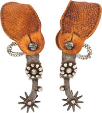 Garcia-Marked Single-Mounted California-Style Spurs