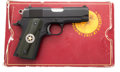 Handguns:Semiautomatic Pistol, Boxed Colt Lightweight Officer's MK IV Series 80 Semi-Automatic Pistol....