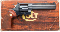 Boxed Python Model Double Action Revolver