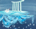 Animation Art:Concept Art, Mary Blair Cinderella Concept Painting (Walt Disney,1950)....