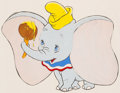 Animation Art:Production Drawing, Dumbo and Friends Butter Advertisement Illustrations Group of 4(Walt Disney, 1950s/60s).... (Total: 4 Original Art)